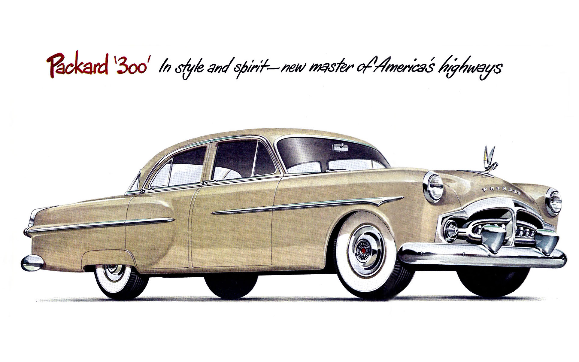 Share for 1952 packard 4 door sedan