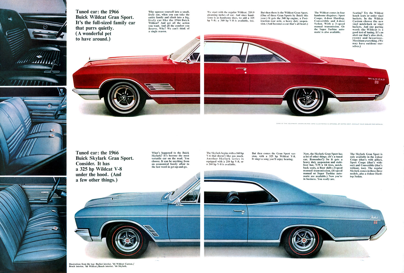 Classic car database with detailed 1966 buick skylark facts history specifications colors and quarter performance times and more