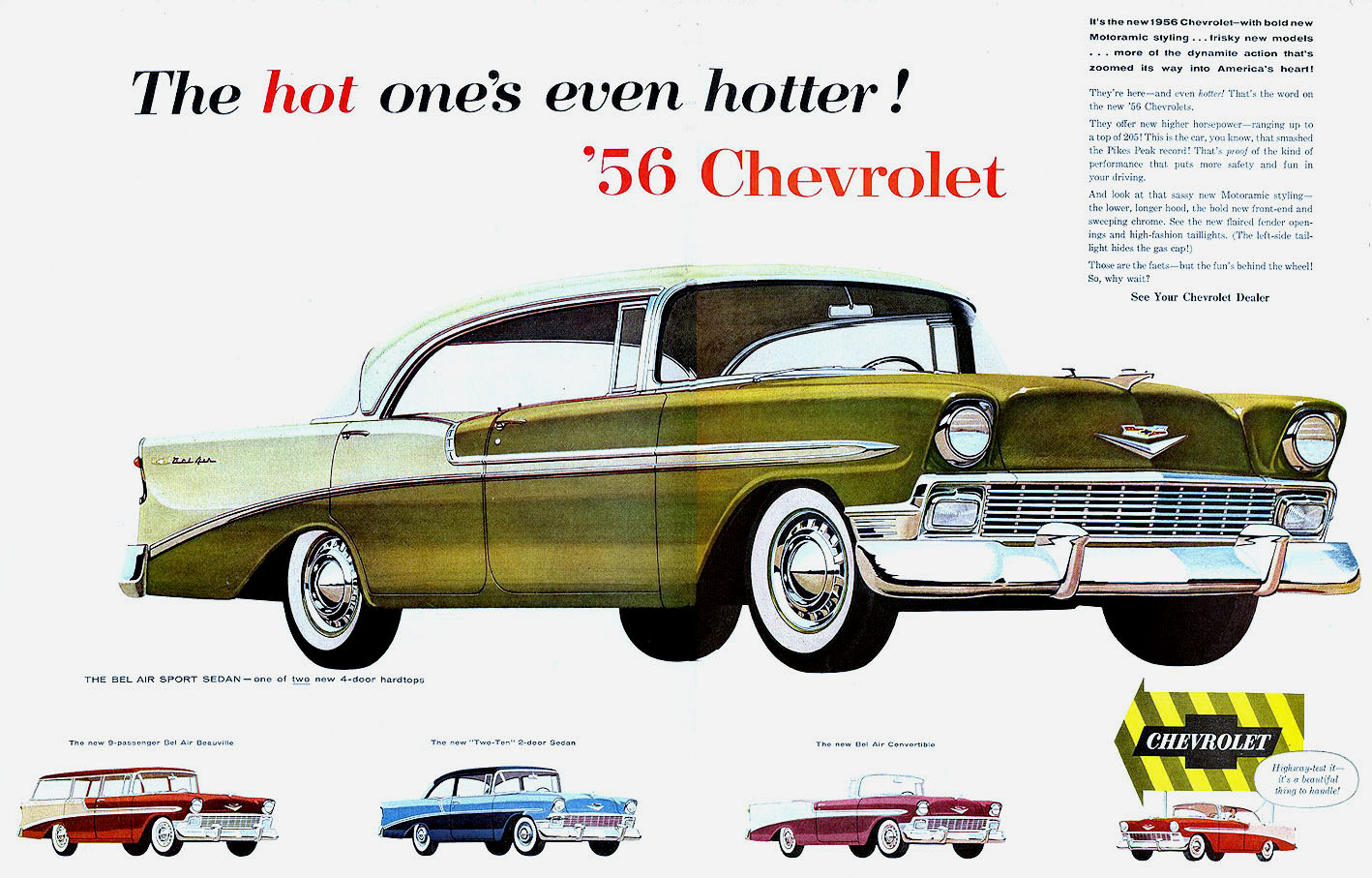 1956 bel air for sale submited images - 56