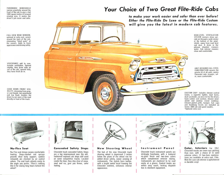 Brochures 1957 Chevrolet Sales Brochure A Contribution By Trevor Poulsen Tocmp