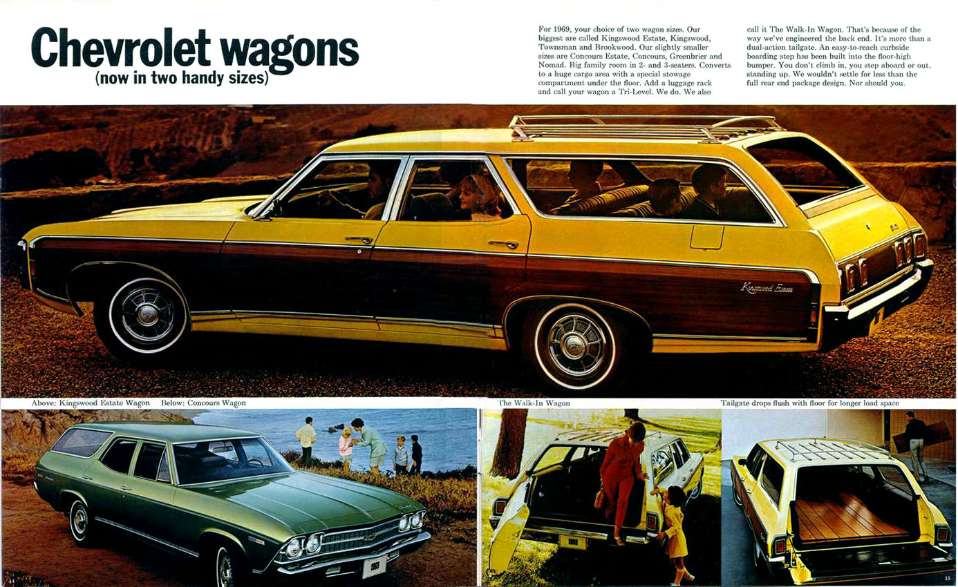1969 Chevrolet Kingswood Estate Wagon http://flipacars.com/searches/1969-chevrolet-kingswood-estate/