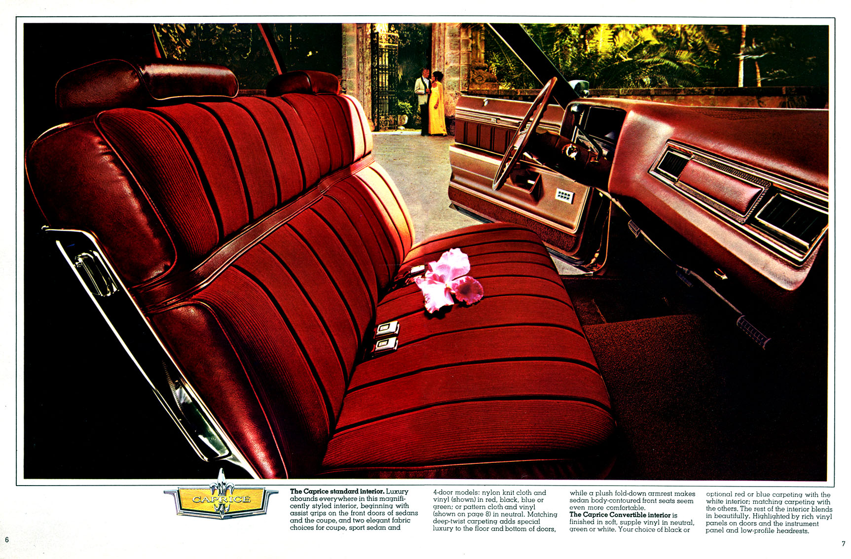 Remember How The 73 Caprice Luxury Sedan Coupe Fuel Automotive Sports Cars Sedans
