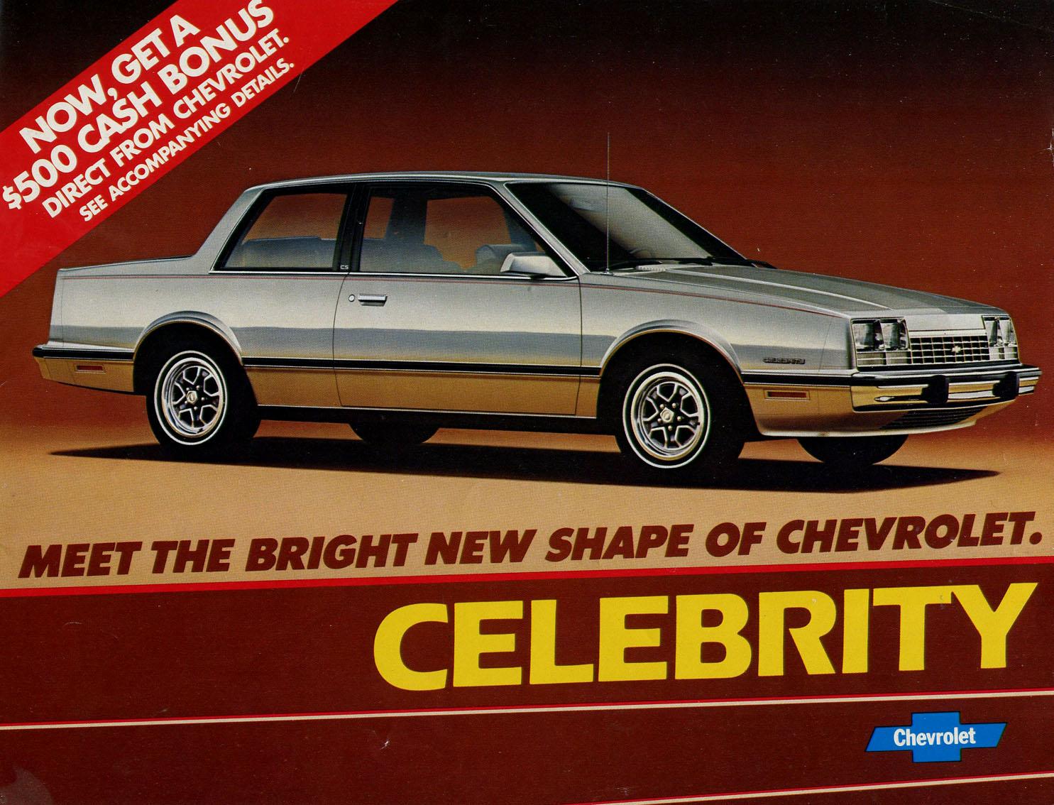 83 chevrolet celebrity gold