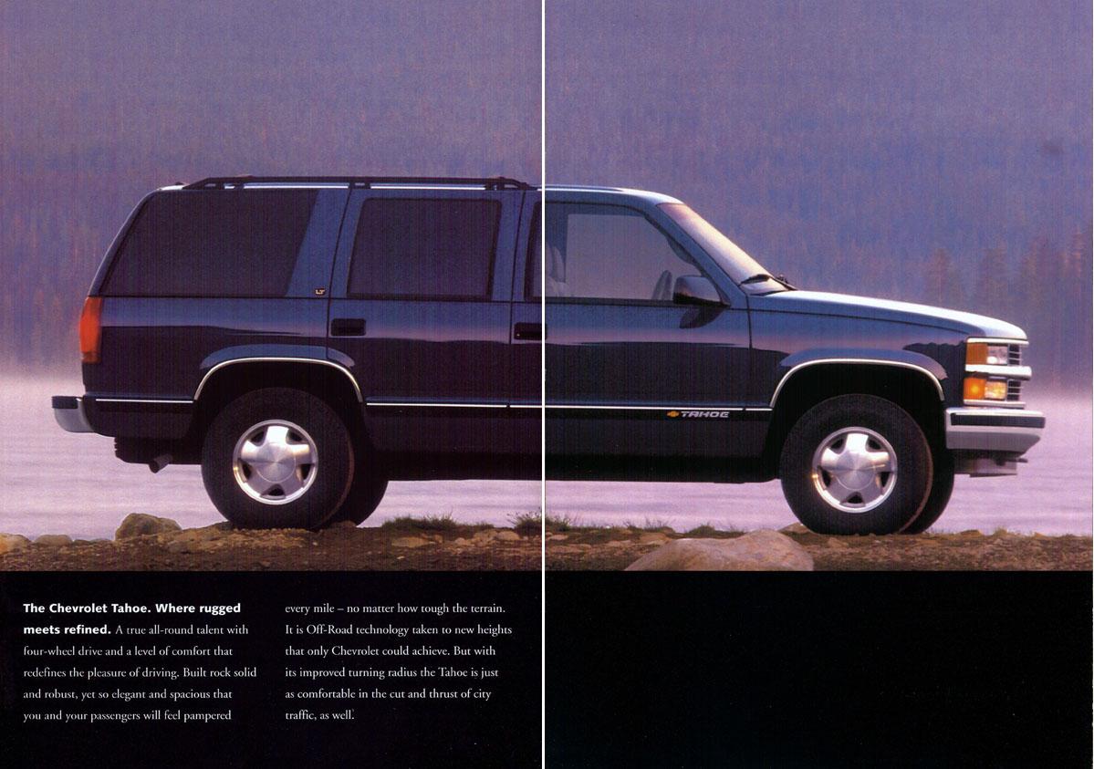 1998 chevrolet tahoe suburban