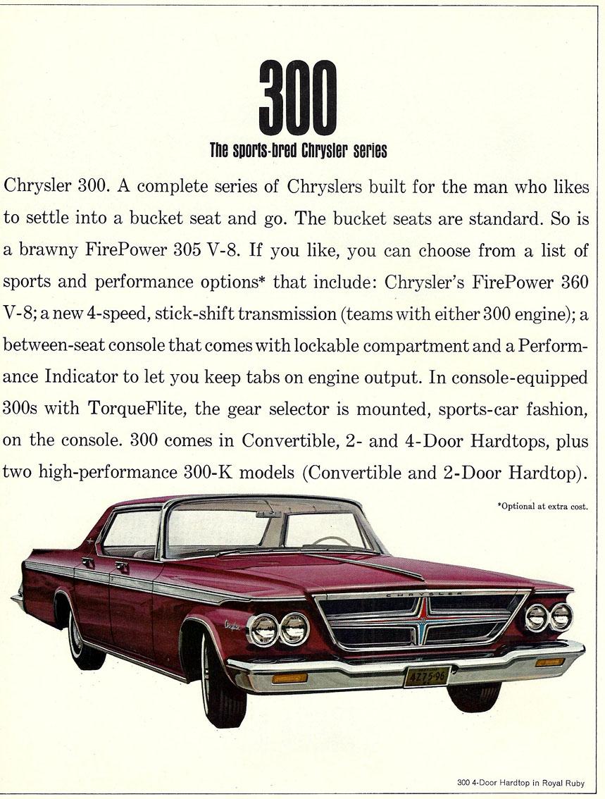 Chrysler 300 ...1964