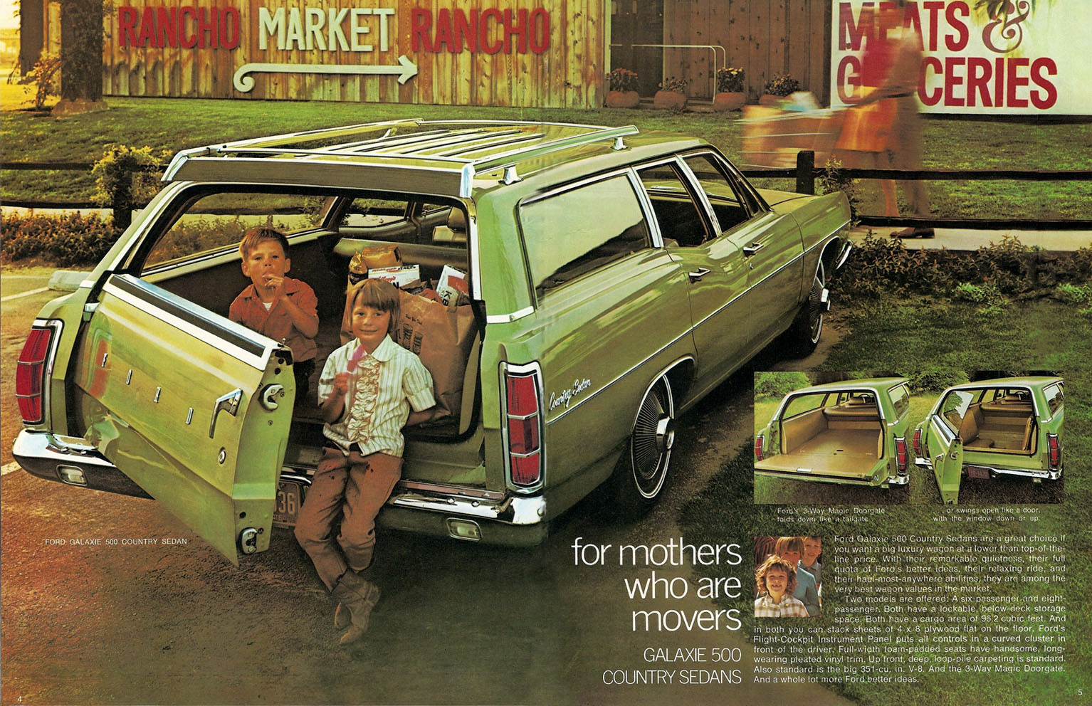 1970 ford station wagons