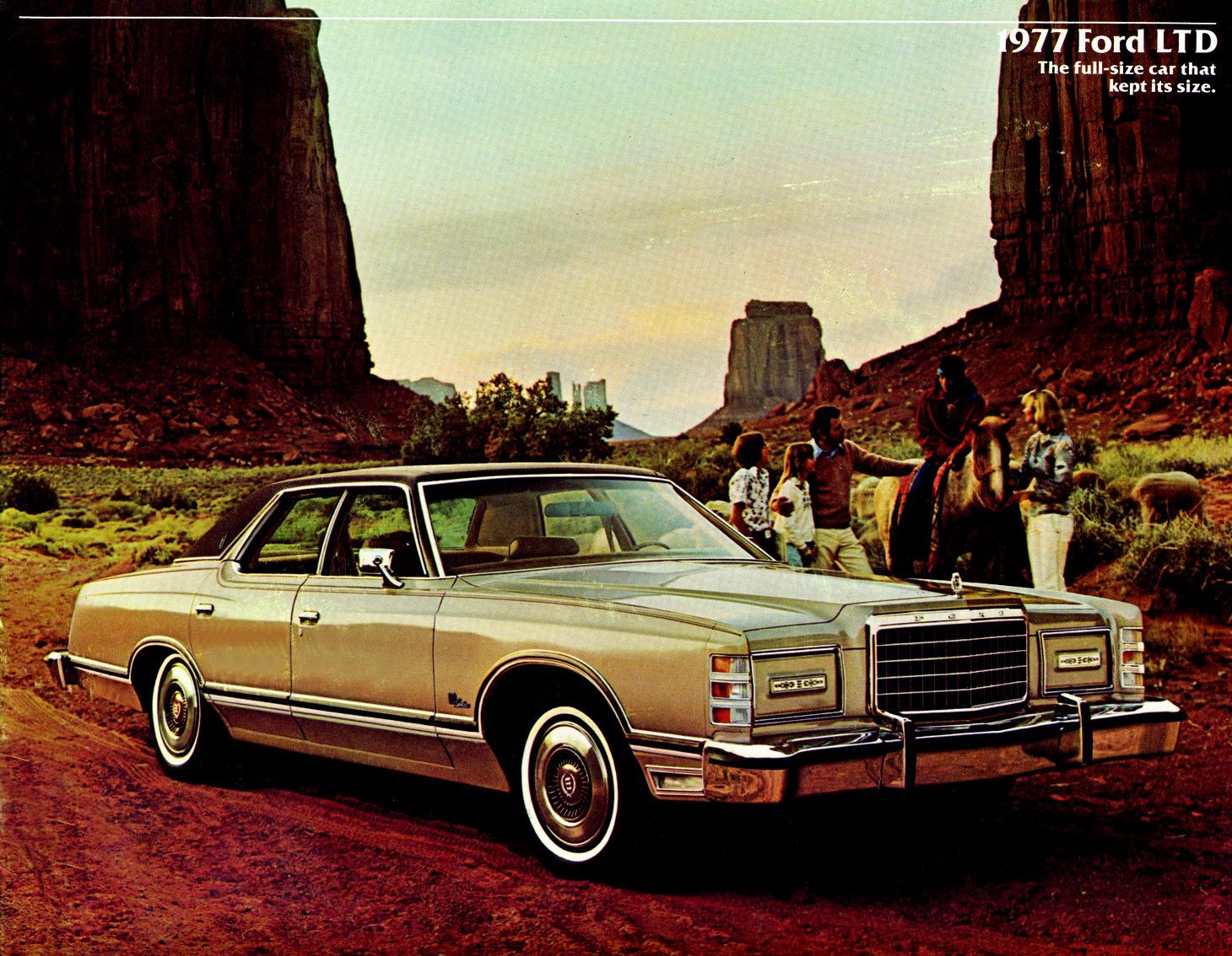 1977 Ford LTD Landau Sedan