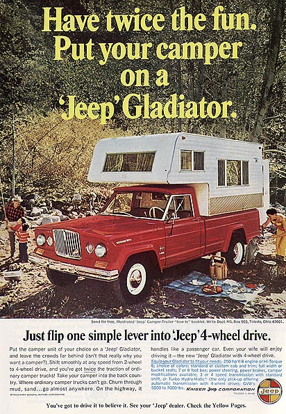 66glad on jeep gladiator