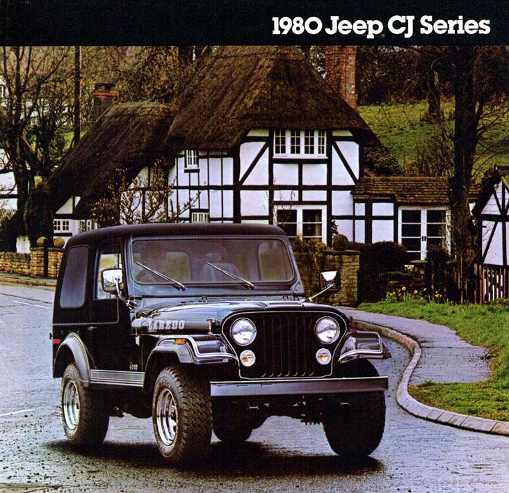 Jeep CJ7: différences entre versions 80jeepcj1