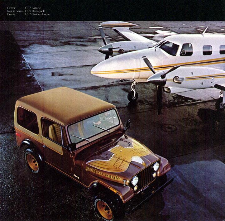 Jeep CJ7: différences entre versions 80jeepcj7