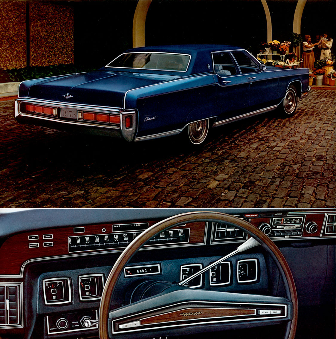 1973: Cadillac, Lincoln, Imperial (Chrysler) (luxury Car