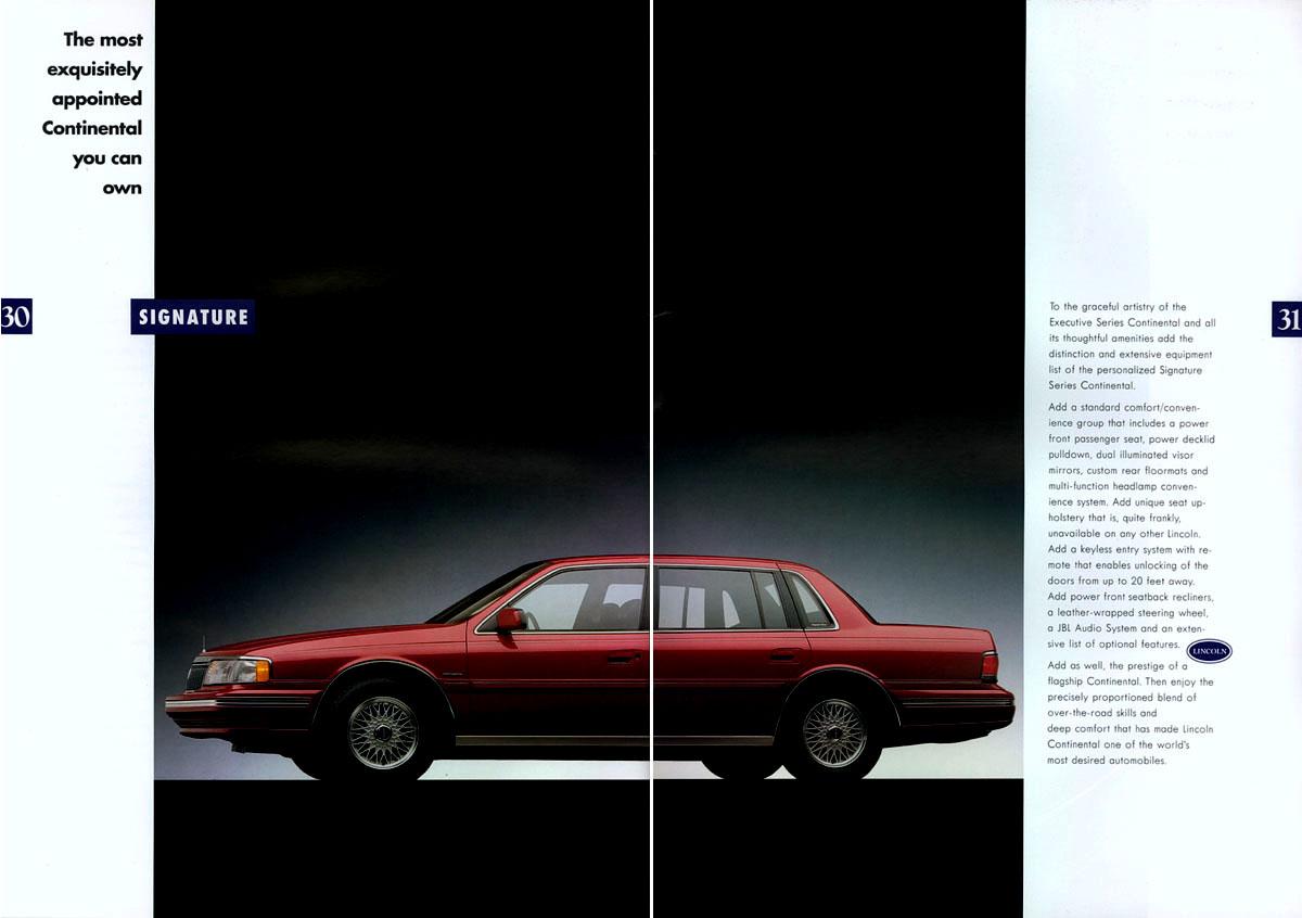 1992 Lincoln