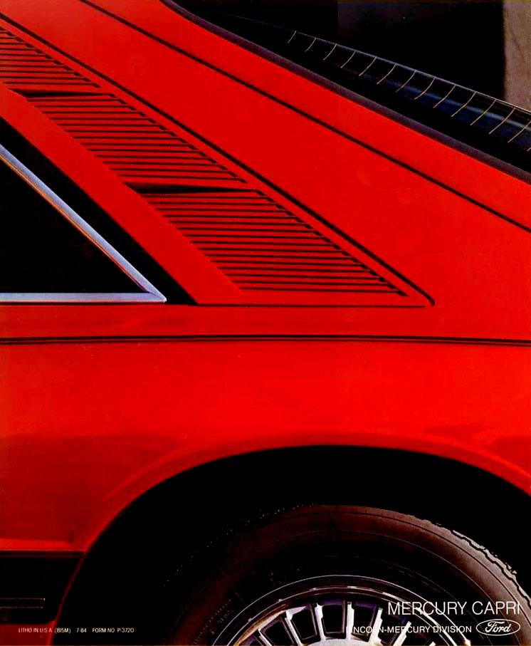 1985 Mercury Capri Mercury