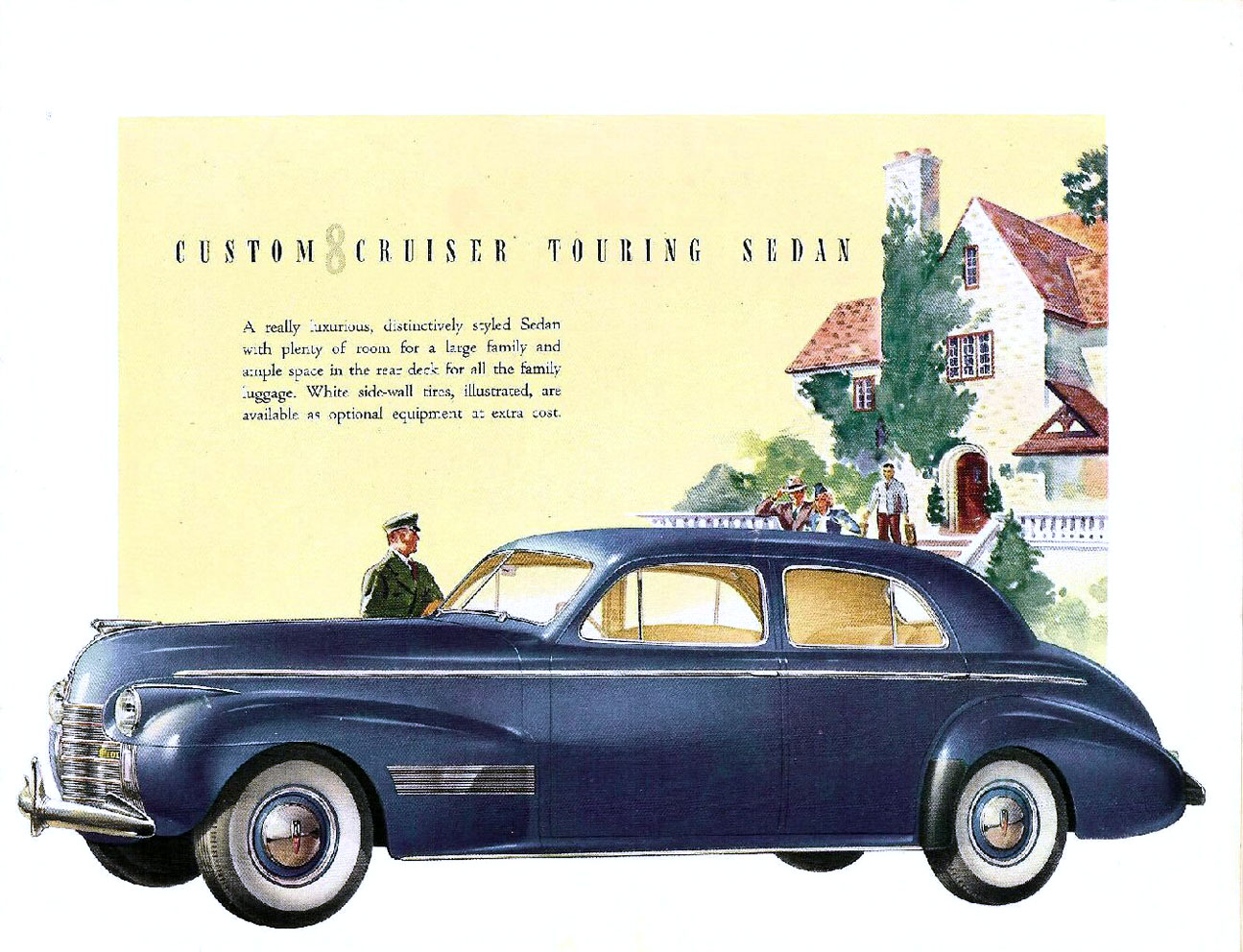 This 1940 oldsmobile 90 is one of the most important cars in gm history from that particular era to understand gm s brand strategy it had originally been