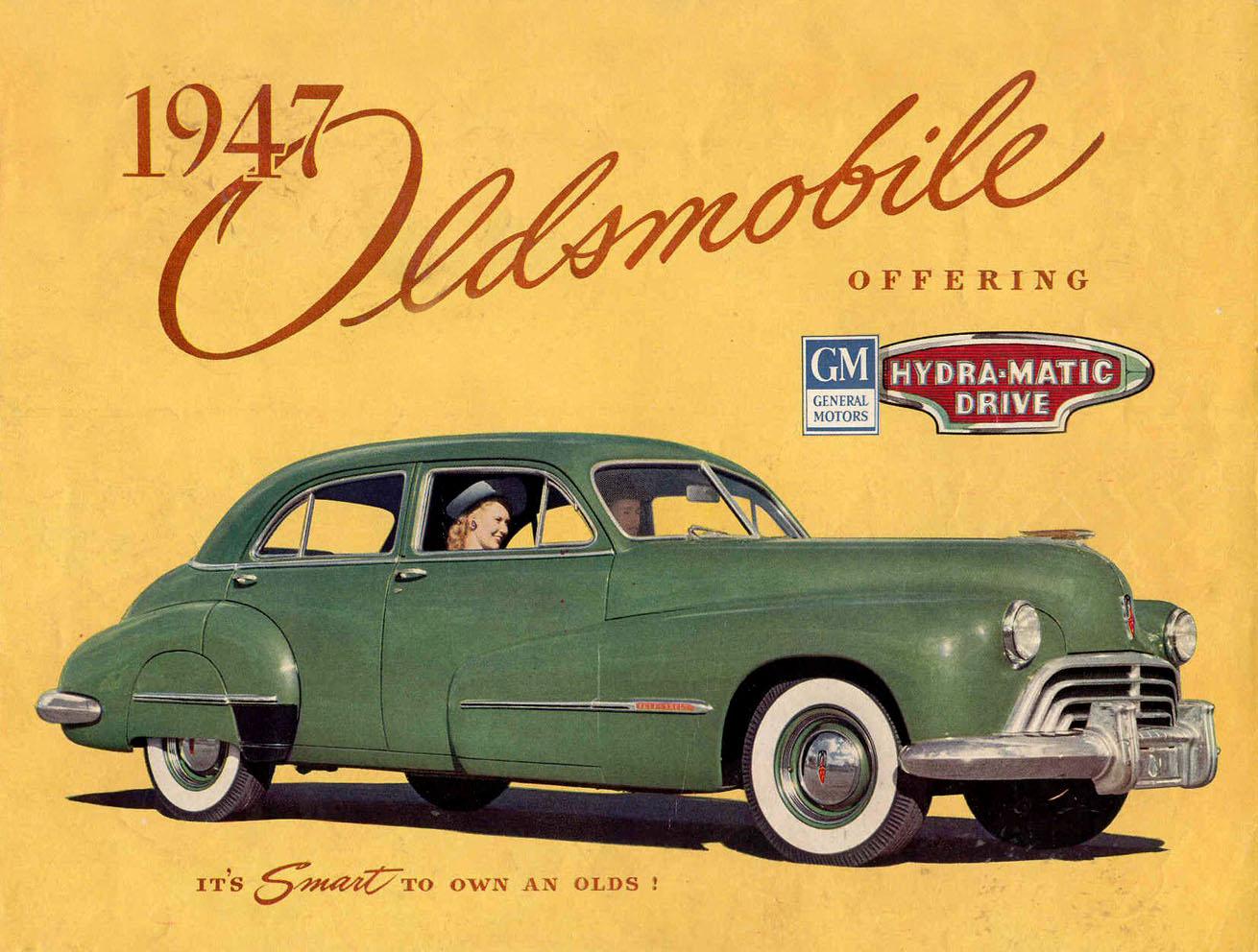 Amazing 1947 Oldsmobile Brochure · Car AdvertisingVintage ... Pictures
