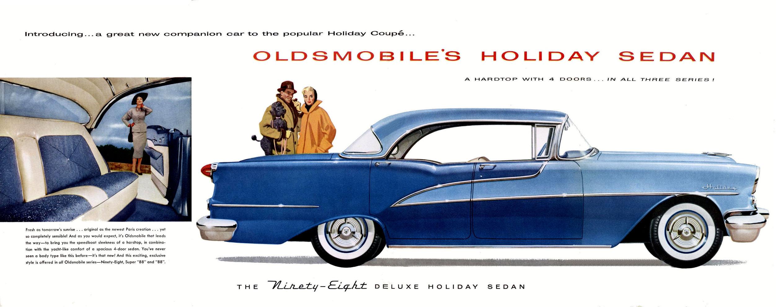 1955 Oldsmobile Holiday Sedan