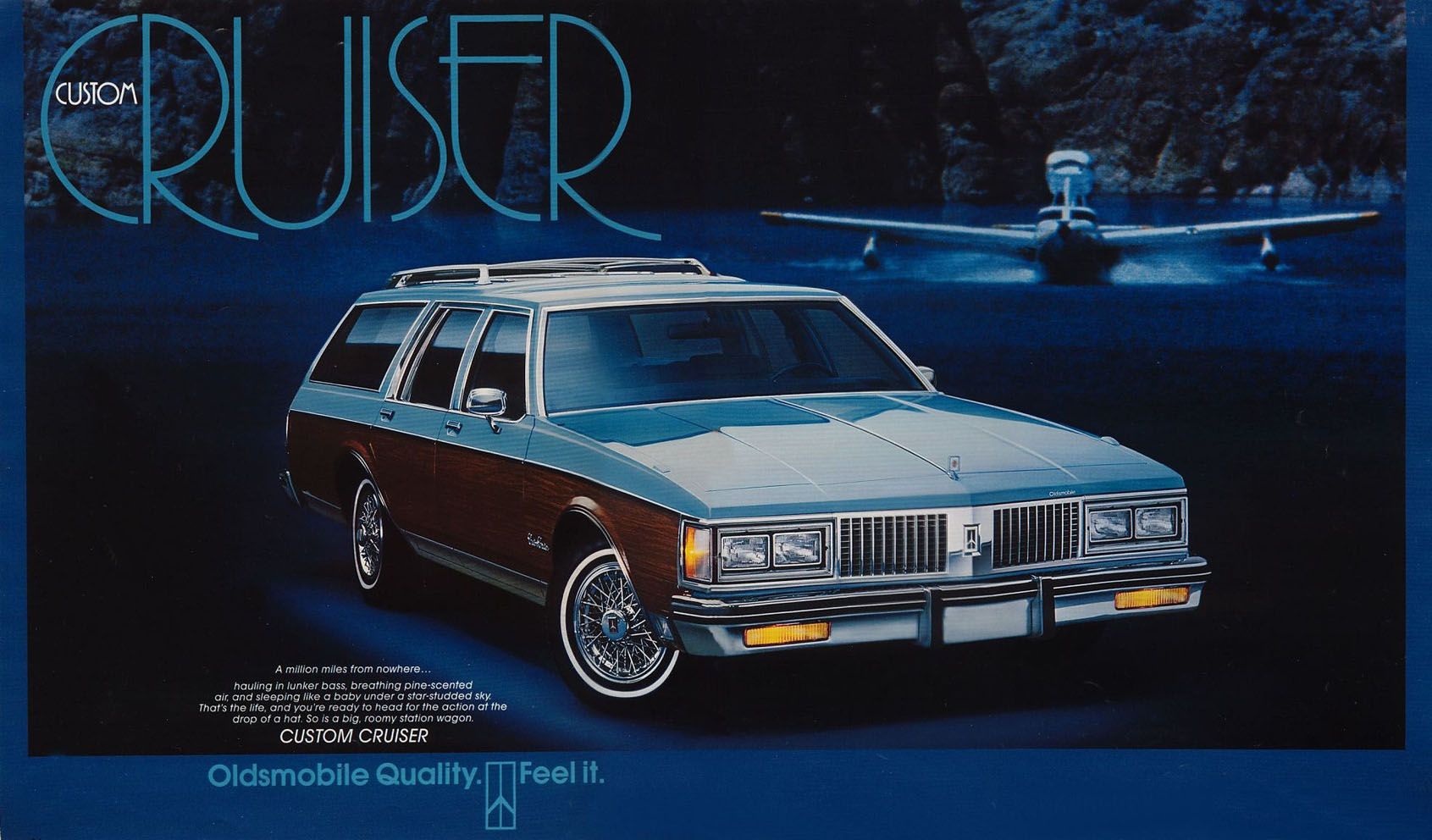1985-88 Chevrolet Caprice Estate / Ford LTD Country Squire