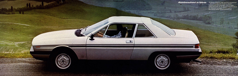 1977 Lancia Gamma Coupé.