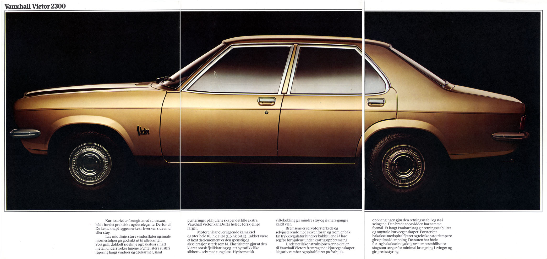 1974 Vauxhall Victor.