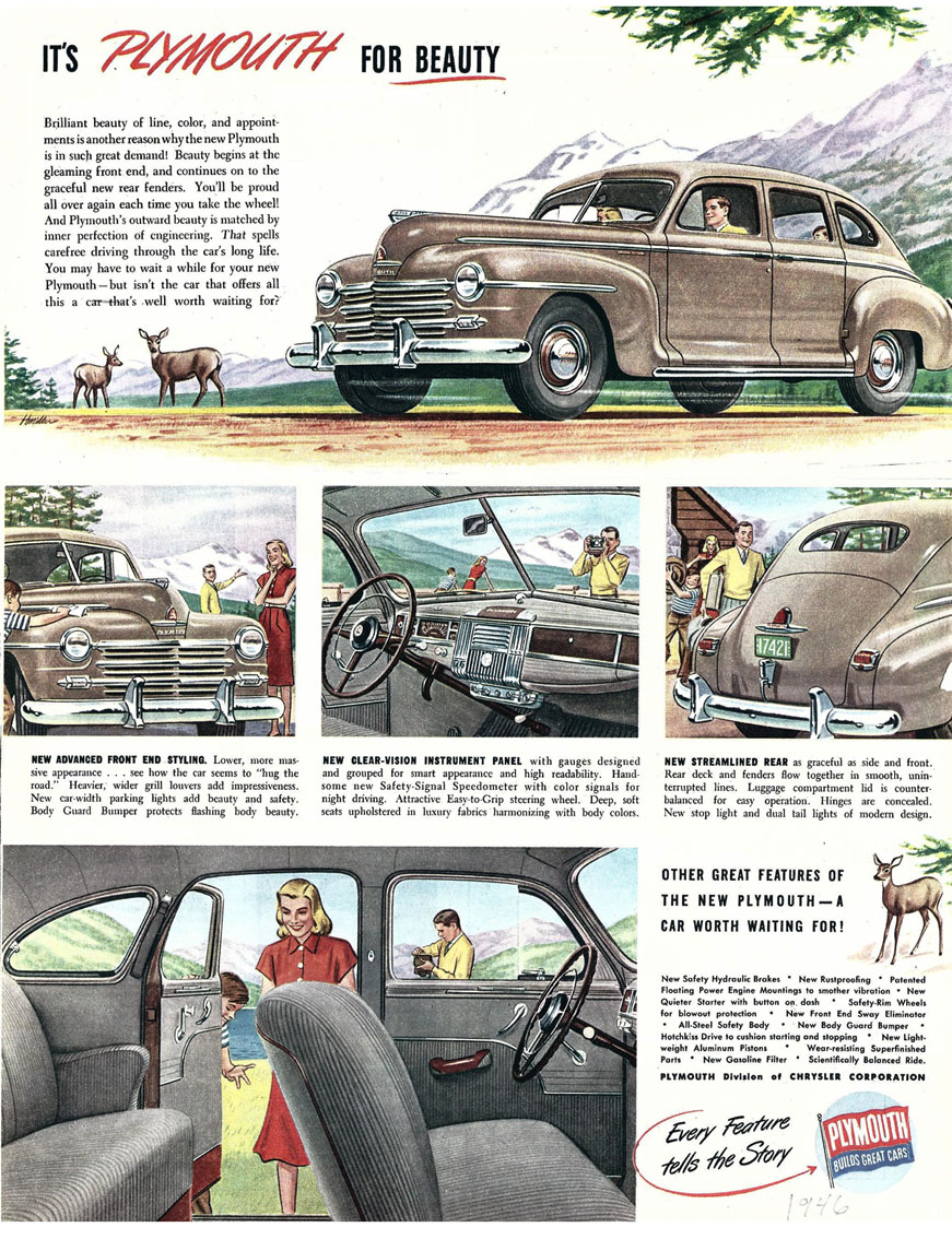 1946 plymouth 1946 year i was born pinterest plymouth for 1946 plymouth special deluxe 4 door