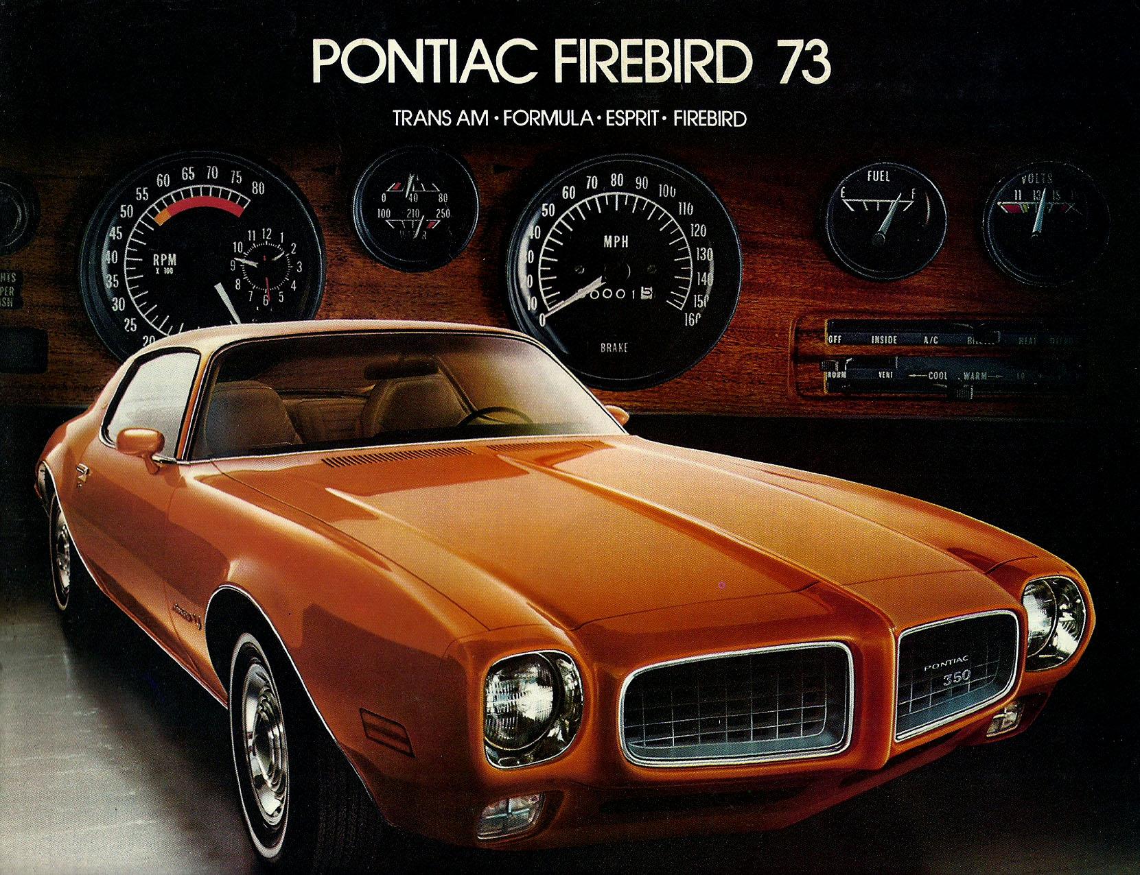 Hot Cars 1973 Pontiac Trans Am Specs Firebird