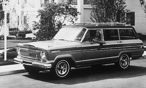 1974 Jeep Cherokee. 1974 Jeep Cherokee + 1966 Jeep