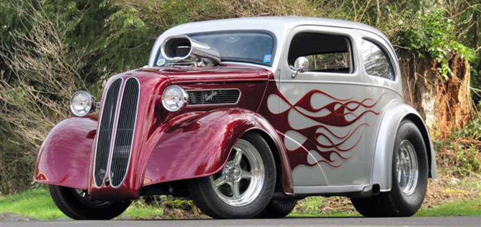 1949 Ford Anglia - 1933 Willys - 1948 Austin & Hot cars markmcfarlin.com