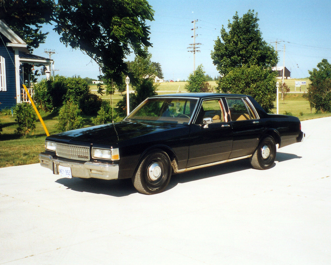 1988 chevrolet caprice police cruiser
