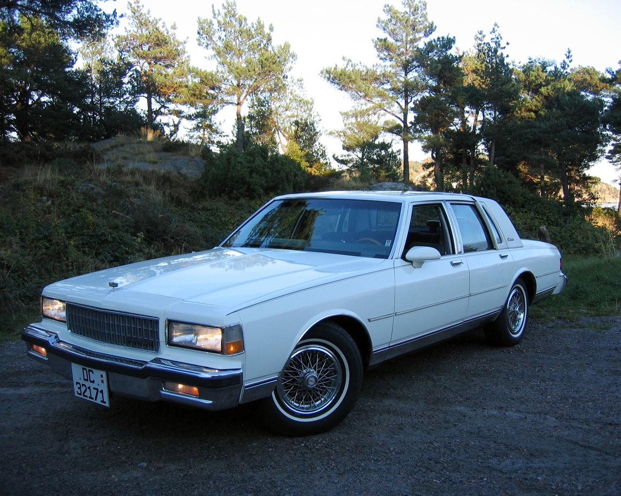Caprice 1989 Chevrolet