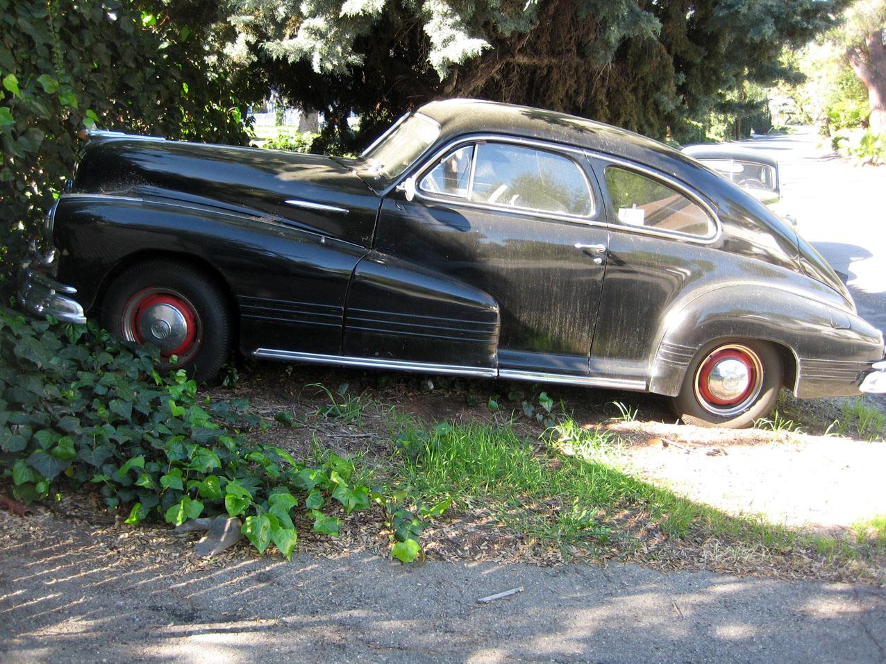 Hot Cars 1948 Pontiac Torpedo Convertible