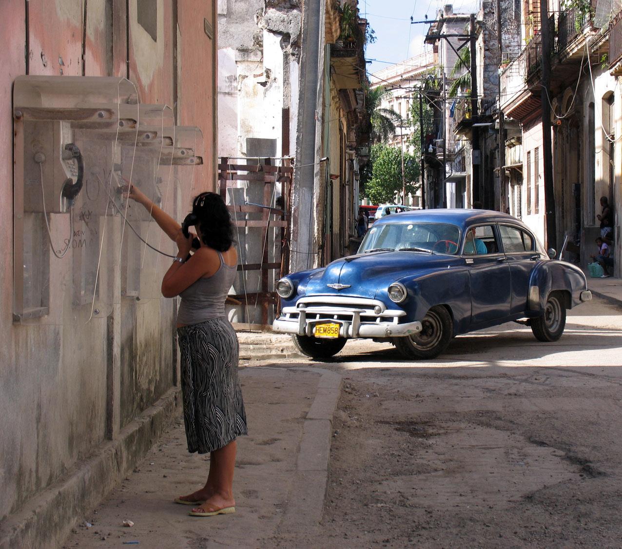 Visiting Cuba 2005