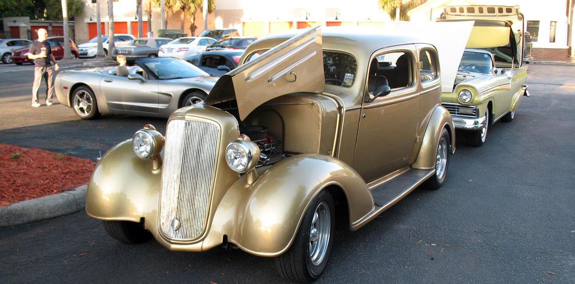Hot Cars - Classic car show tampa fl