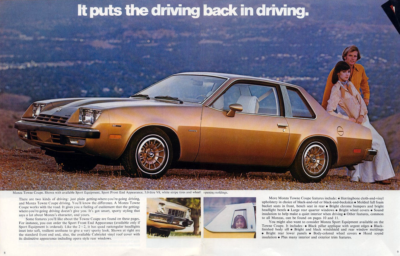 All Chevy 1976 chevrolet monza : Auto Brochures