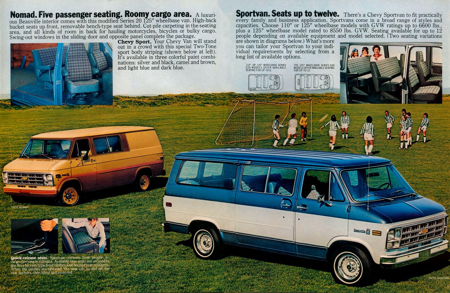 1979 Nomad & Sportvan | Vannin' | Pinterest