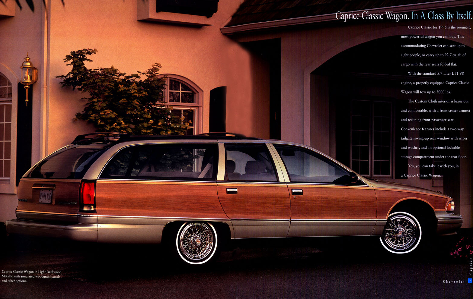 All Chevy 1996 chevrolet caprice wagon : Hot Cars