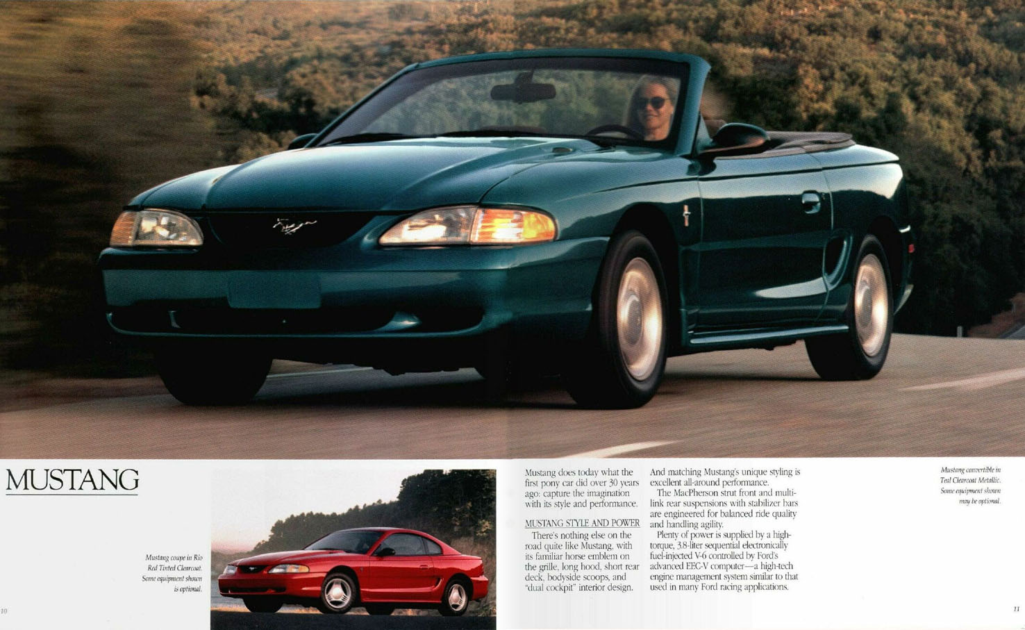 Auto Brochures 1964 Ford Mustang Brochure 1995
